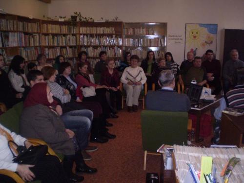 Író-olvasó találkozó Dr.Csáky Károllyal és Dr.Sztyahula Lászlóval (2014.01.19.)